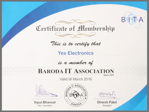 certificate of membership