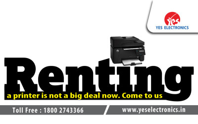 Printer Rental Service India | Yes Electronics