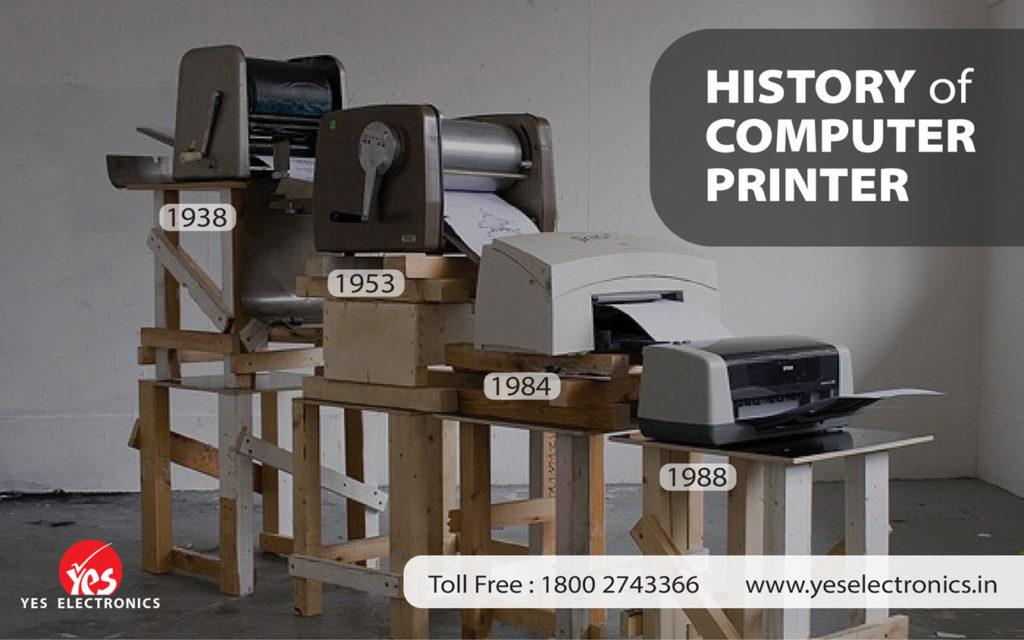 Revolution of computer printer | Printer Repair Service | Vadodara